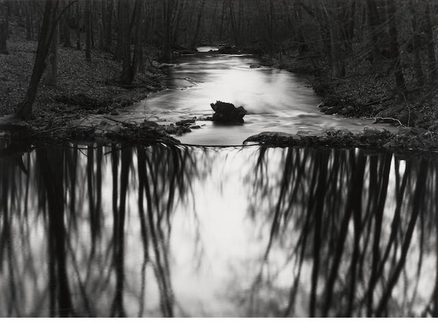 Paul Caponigro (born 1932); Stream, Redding, Connecticut;