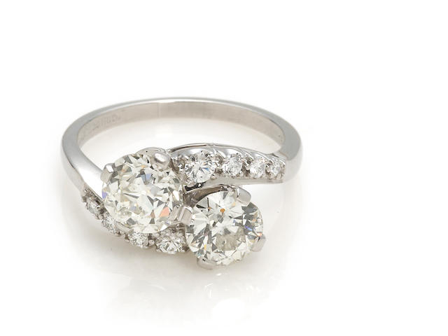 A diamond bypass ring, Jabel