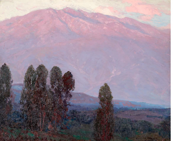 Edgar Payne (1883-1947) Altadena dawn 26 x 32in