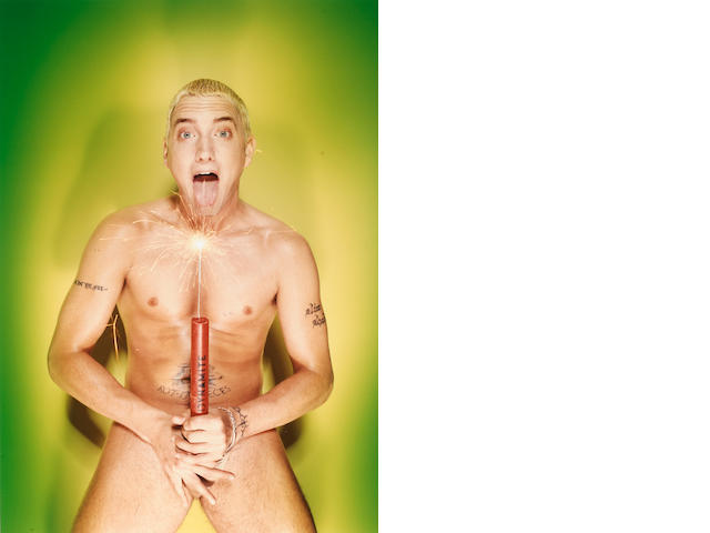 David LaChapelle (born 1964); Eminen: About to Blow, New York;