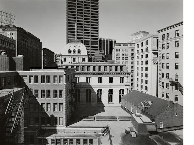 Nicholas Nixon (born 1947); Copley Square, Boston; Building on Tremont Street, Boston; (2)