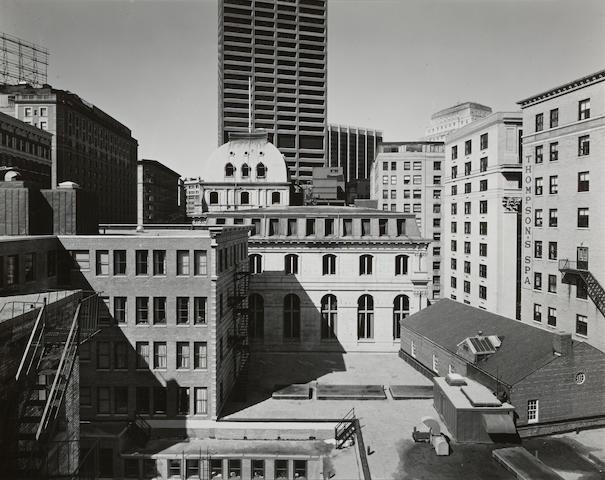 Nicholas Nixon (born 1947); Copley Square, Boston; Building on Tremont Street, Boston; (2)