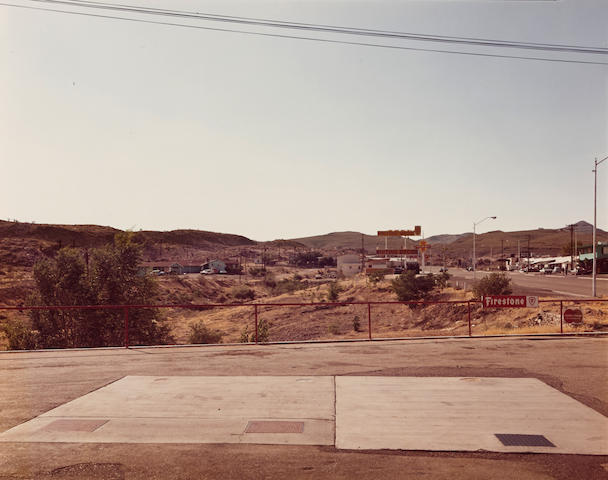 Stephen Shore (born 1947); Kingman, Arizona, July 2 1975, from Uncommon Places 1973-1979;