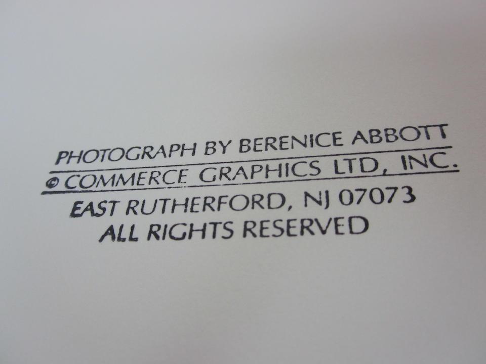 Berenice Abbott (1898-1991); New York at Night;
