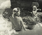 Iwase Yoshiyuki, Group of 3 Divers, Gelatin silver prints ///