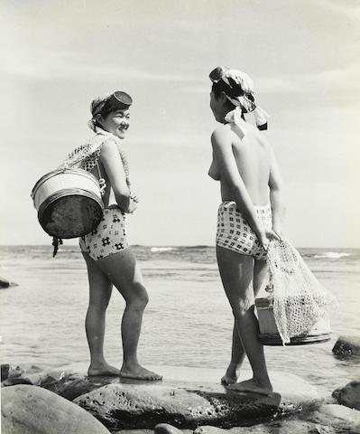 Iwase  Yoshiyuki  (1904-2001); Untitled (Ama Divers); (3)