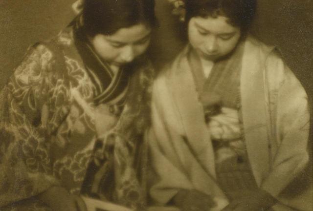 Ogawa Gesshu (1891-1967); Sisters;