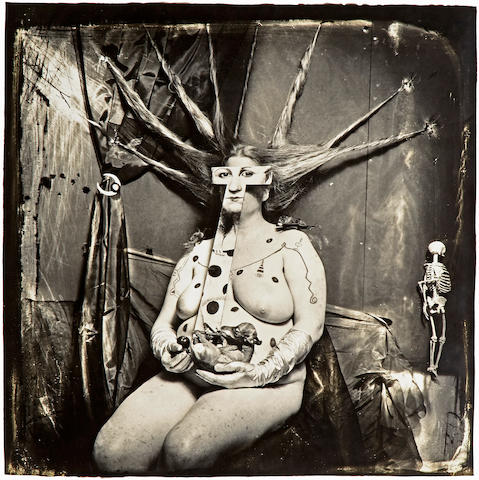 Joel-Peter Witkin (born 1939); Portrait of Nan,  New Mexico;