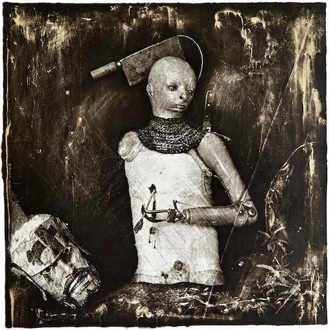 Joel-Peter Witkin (born 1939); Un Santo Oscuro, Los Angeles;