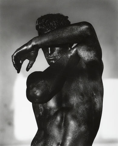Herb Ritts (1952-2002); Tony - Black Torso, Los Angeles;