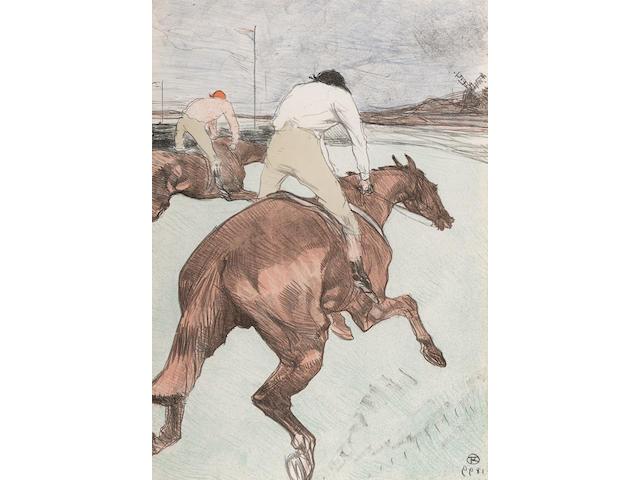 Henri de Toulouse-Lautrec (1864-1901); Le Jockey ;