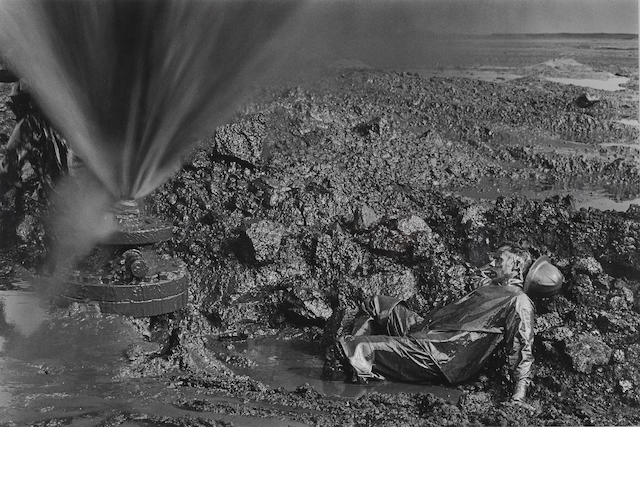 Sebastião Salgado (born 1944); May Lying in Oil, Kuwait;