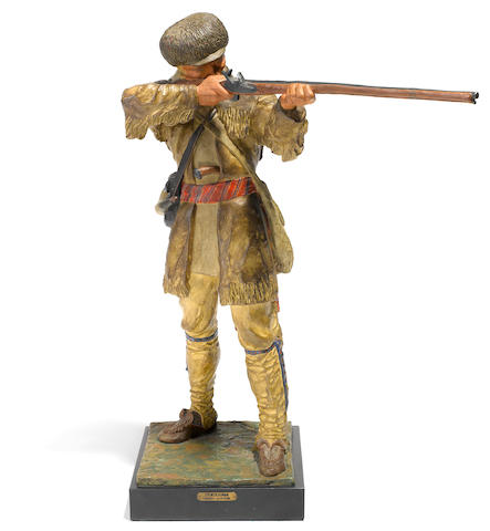 Harry Jackson, Frontiersman, Pennsylvania Woodsman (bronze)