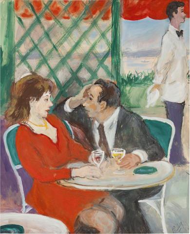 Robert Phillip, In Love Again, 29 x 35 1/4in