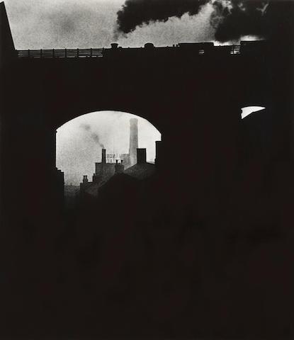 Bill Brandt (1904-1983); Train leaving Newcastle;