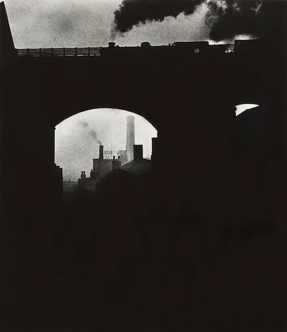 Bill Brandt (1904-1983); Train leaving Newcastle;