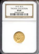 1913 $2.5 PF-68 NGC