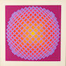 Victor Vasarely, Untitled, (2), Color screenprints, Each signed and numbered
