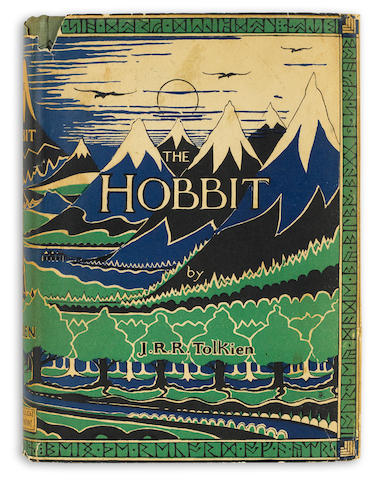 TOLKIEN, J.R.R. The Hobbit. London, 1937. Dust jacket. First edition.
