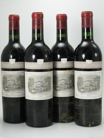 Château Lafite Rothschild 1961 (12)