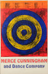 Jasper Johns, Merce Cunningham poster, signed