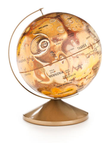 SIX REPLOGLE GLOBES.
