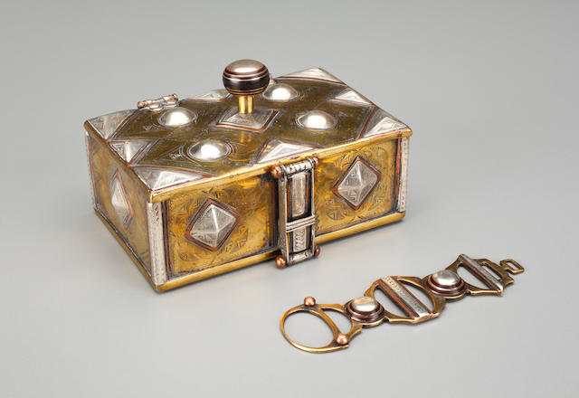 Silver Box & Lock, Niger - Ref. 1164.2