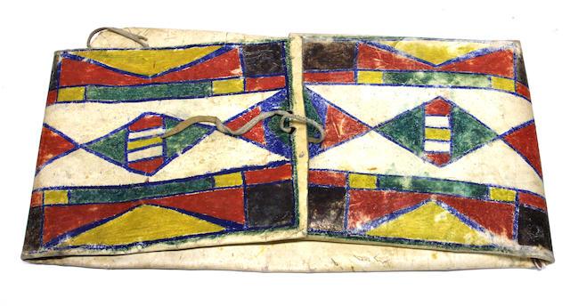 A Plateau parfleche envelope