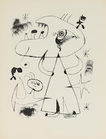 Joan Miró (1893-1983); The Prints of Joan Miró; (3)