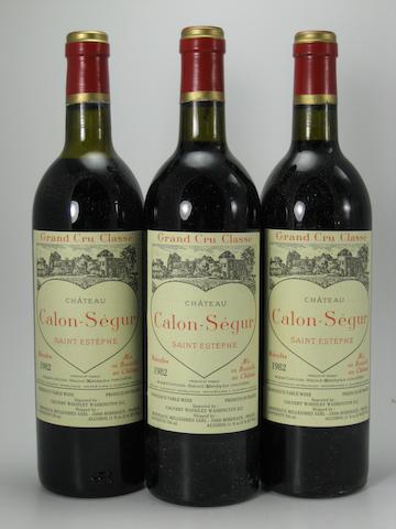 Château Calon-Ségur 1982 (12)