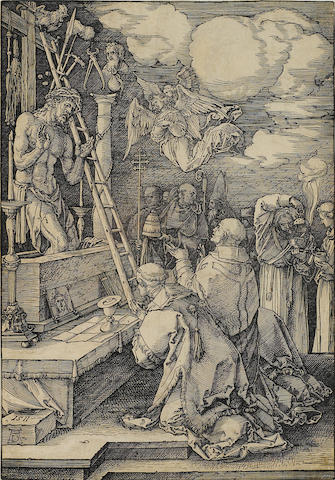 Albrecht Dürer (1471-1528); Mass of St. Gregory;