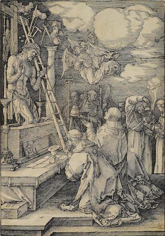 Albrecht Dürer (1471-1528); Mass of St. Gregory;
