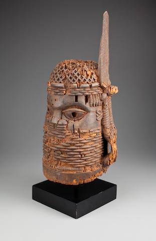 Benin altar head