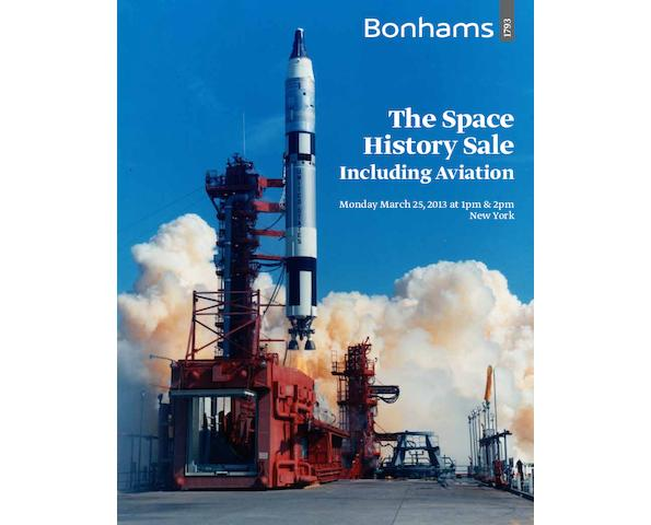 The Space History Sale including Aviation