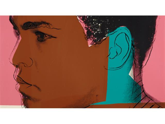 Andy Warhol (1928-1987); Muhammad Ali;