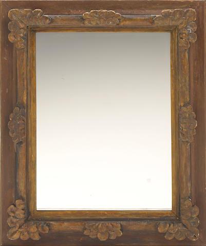 A Spanish Baroque style mirror