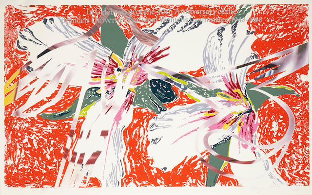 James Rosenquist (born 1933); In Celebration of the 40th Anniversary of the Brandeis University National Women's Committee;