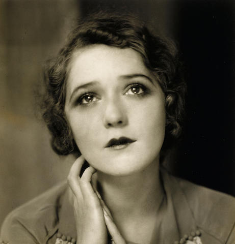 An Edward Steichen photograph of Mary Pickford