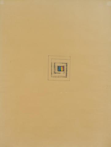 Jim Dine (American, born 1935) Artist's Badge, c. 1958