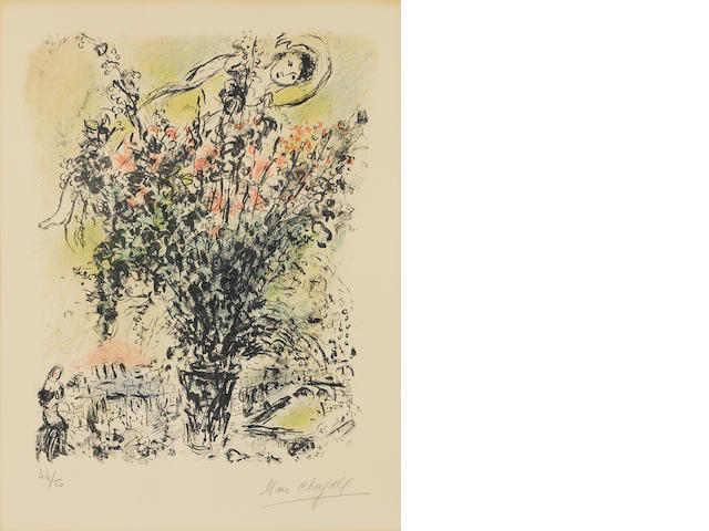 Marc Chagall (1887-1985); Bouquet de Paris;