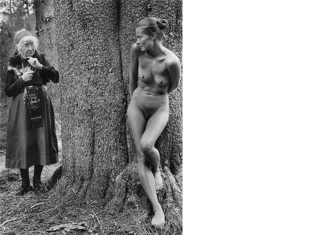 Judy Dater (born 1941); Imogen Cunningham and Twinka at Yosemite;