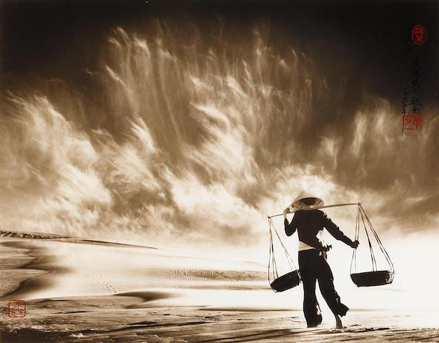 Don Hong-Oai (1929-2004); Sandstorm, Vietnam;