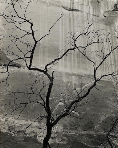 Brett Weston, Glen Canyon, gsp, signed.  Provenance: Butterfields, sale 7256K (6975324 line 1)