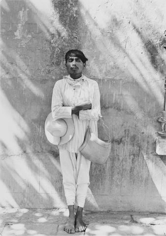 Manuel Alvarez Bravo (Mexican, 1902-2002); Señor de Papantla, Veracruz;
