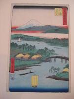Utagawa Hiroshige I (1797-1858)<BR />Ten woodblock prints
