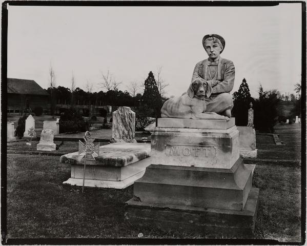 Walker Evans (1903-1975); Victorian Gravestone, Mississippi, December;
