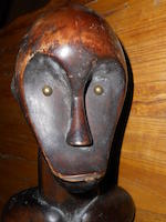 A Dogon wood figure