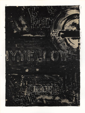 Jasper Johns (born 1930); Periscope II;