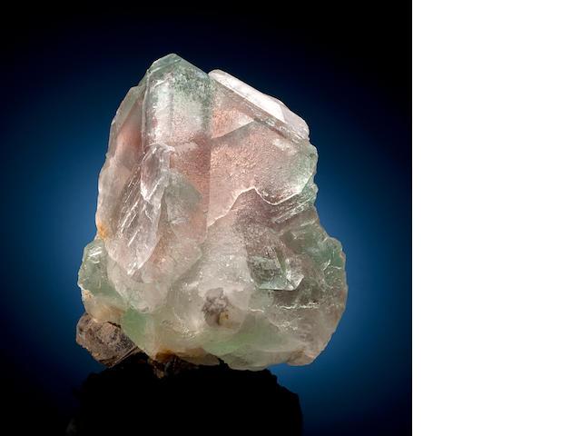 Pink Green Fluorite, Afghanistan