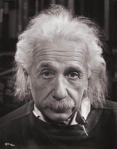 Philippe Halsman (1906-1979); Albert Einstein;